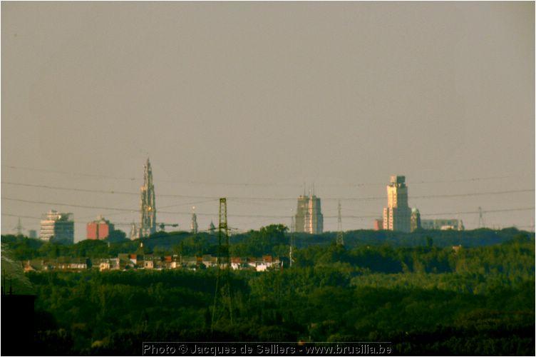 Antwerpen uitzicht vanaf de brusilia - Uitzicht op de tuinman ...